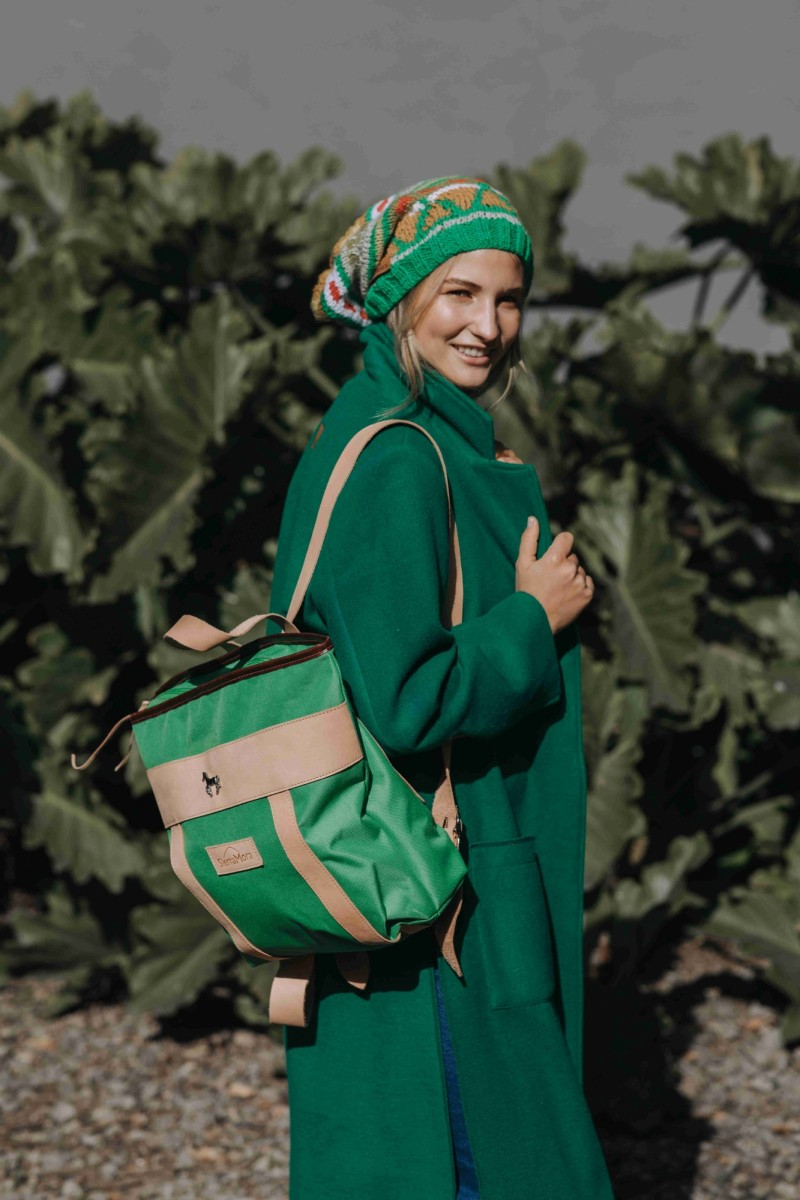 Mustang Backpack - Verde Benetton